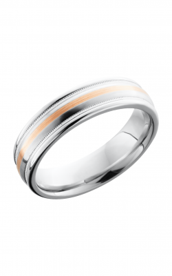 Lashbrook Cobalt Chrome Wedding Band CC6RED2UMIL11_14KR product image