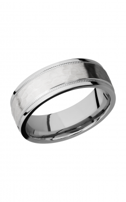 Lashbrook Cobalt Chrome Wedding Band CC7.5FGEW2UMIL product image