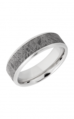 Lashbrook Meteorite Wedding band CC7B15 S METEORITE product image