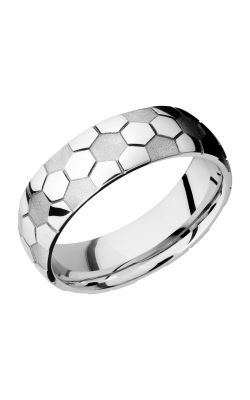 Lashbrook Cobalt Chrome Wedding band CC7D LCVSOCCER product image