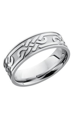 Lashbrook Cobalt Chrome Wedding Band CC7FCELTICLOOPU product image