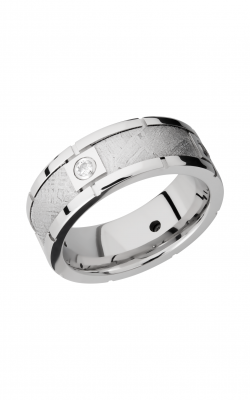 Lashbrook Meteorite Wedding band CC8B4SEG METEORITEDIA4X.07B product image