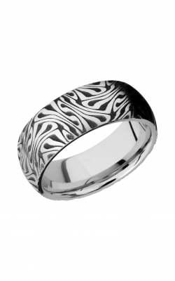 Lashbrook Cobalt Chrome Wedding band CC8D LCVESCHER1 product image
