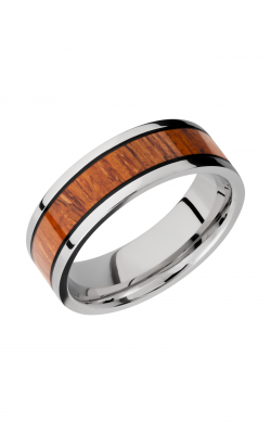 Lashbrook Hardwood Collection Wedding Band CCHW7.5F14_DESERTIRONWOOD_MGA product image