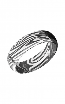 Lashbrook Damascus Steel Wedding Band D7DBSUNSET product image