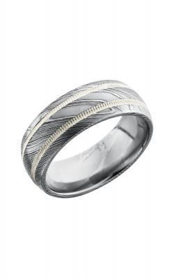 Lashbrook Damascus Steel Wedding band D8D21 SS2MIL product image