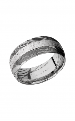 Lashbrook Meteorite Wedding band D9D13WOODGRAIN METEORITE product image