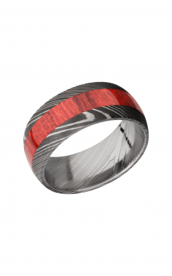 Lashbrook Hardwood Collection Wedding band D9D14 REDHEART product image