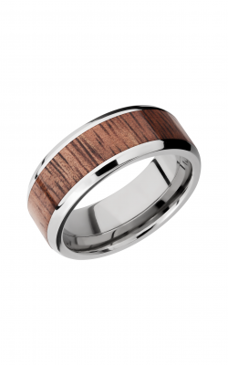 Lashbrook Hardwood Collection Wedding band HW8B15 NS KOA product image