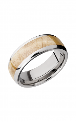 Lashbrook Hardwood Collection Wedding band HW8D15 BOXELDERBURL product image