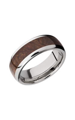 Lashbrook Hardwood Collection Wedding Band HW8D15_CANXANBURL product image