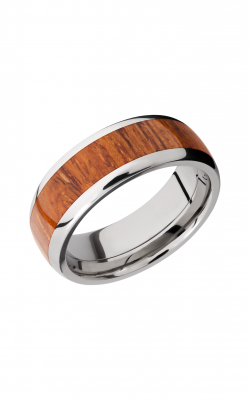 Lashbrook Hardwood Collection Wedding Band HW8D15_DESERTIRONWOOD product image