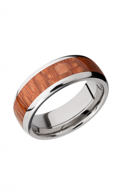 Lashbrook Hardwood Collection Wedding band HW8D15 LEOPARD product image
