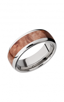 Lashbrook Hardwood Collection Wedding band HW8D15 MAPLEBURL product image