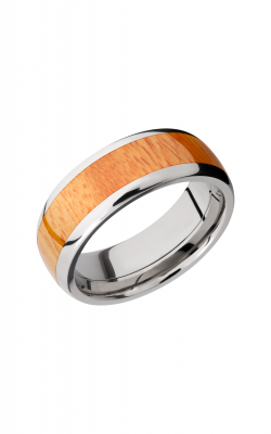 Lashbrook Hardwood Collection Wedding band HW8D15 OSAGEORANGE product image