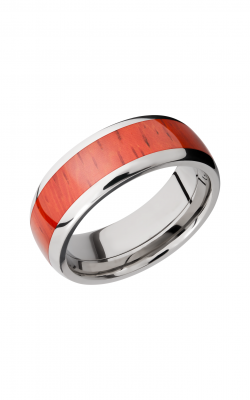 Lashbrook Hardwood Collection Wedding band HW8D15 PADAUK product image