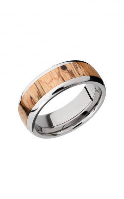 Lashbrook Hardwood Collection Wedding Band HW8D15_SPALTEDTAMARIND product image