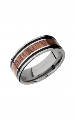 Lashbrook Hardwood Collection Wedding band HW8F1321 KOA product image