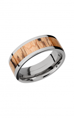 Lashbrook Hardwood Collection Wedding band HW8F15 SPALTEDTAMARIND product image