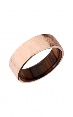 Lashbrook Hardwood Collection Wedding Band HWSLEEVE14KR8FR_NATCOCO product image