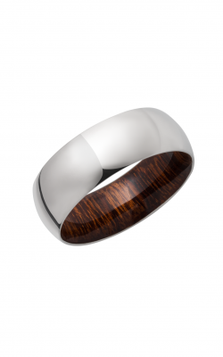 Lashbrook Hardwood Collection Wedding Band HWSLEEVE8D+DIW product image