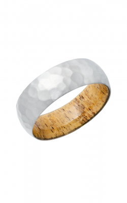 Lashbrook Hardwood Collection Wedding Band HWSLEEVE8D+SPALTEDTAMARIND product image