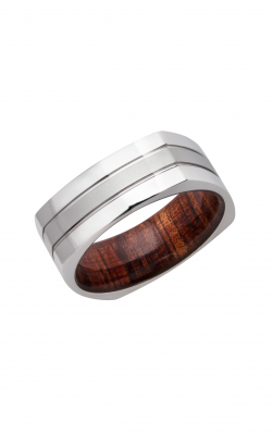 Lashbrook Hardwood Collection Wedding Band HWSLEEVECC8FSQ2.5+KOA product image