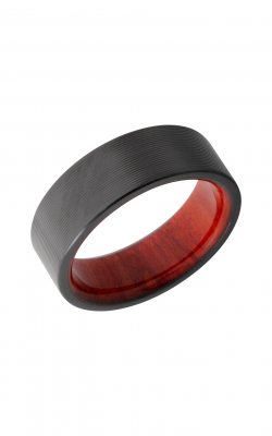 Lashbrook Hardwood Collection Wedding Band HWSLEEVEZ8FR_REDHEART product image