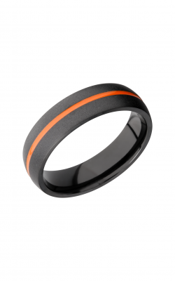 Lashbrook Zirconium Wedding Band Z6D11_AHUNTERORANGEOUT product image