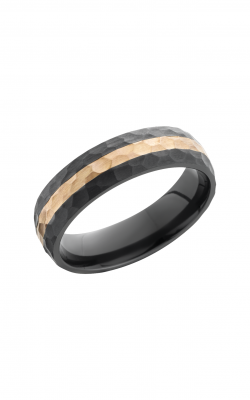 Lashbrook Zirconium Wedding Band Z6D12_14KR product image