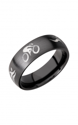 Lashbrook Zirconium Wedding band Z7D WLCVTRIATHLON product image