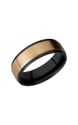 Lashbrook Zirconium Wedding band Z7FGE15C 14KY product image
