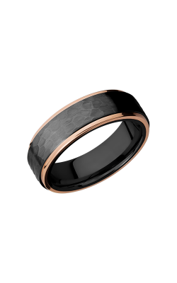 Lashbrook Zirconium Wedding Band Z7FGE21EDGE_14KR product image