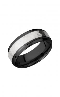 Lashbrook Zirconium Wedding band Z8B14 S SS product image