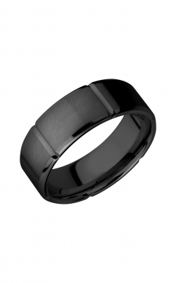 Lashbrook Zirconium Wedding band Z8B6SEG product image