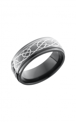 Lashbrook Zirconium Wedding Band Z8DGE_CELTIC7 product image