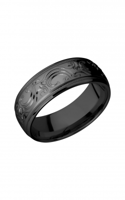 Lashbrook Zirconium Wedding Band Z8DMJBA product image