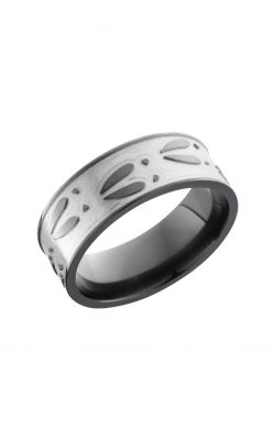Lashbrook Zirconium Wedding band Z8F DEERU product image