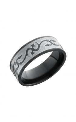 Lashbrook Zirconium Wedding Band Z8F_THORNS product image