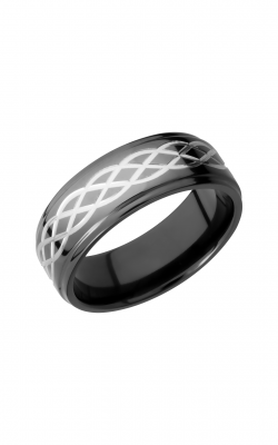 Lashbrook Zirconium Wedding Band Z8FGE_CELTIC6 product image