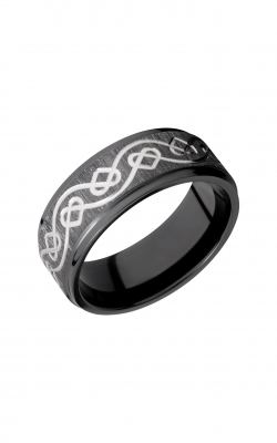 Lashbrook Zirconium Wedding Band Z8FGE_CELTICHEART product image