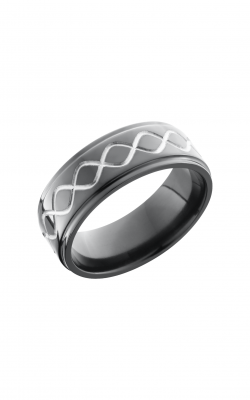 Lashbrook Zirconium Wedding band Z8FGE TALLINF product image