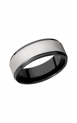Lashbrook Zirconium Wedding band Z8FGE SILVER product image
