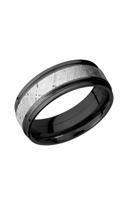 Lashbrook Meteorite Wedding band Z8FGEW2UMIL14 METEORITE product image