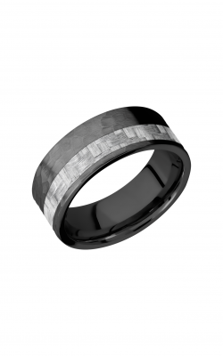 Lashbrook Carbon Fiber Wedding Band ZC8F13OC_SILVERCF product image