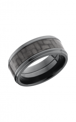 Lashbrook Carbon Fiber Wedding band ZC9FGE15 CF product image