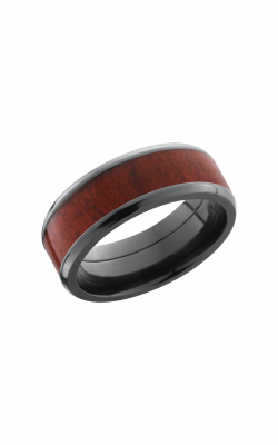 Lashbrook Hardwood Collection Wedding Band ZHW8B15(NS)_REDHEART product image
