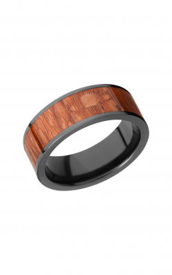 Lashbrook Hardwood Collection Wedding band ZHW8F16 LEOPARD product image