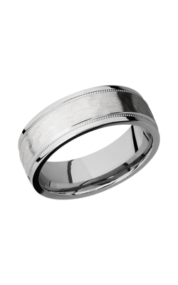 Lashbrook Precious Metals Wedding Band 14KW7.5FGEW2UMIL-P product image