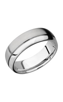 Lashbrook Cobalt Chrome Wedding band CC7D1.5OC product image